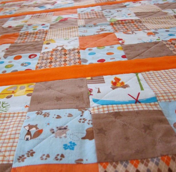 Detail Doohickey Designs Fox Trails Quilt