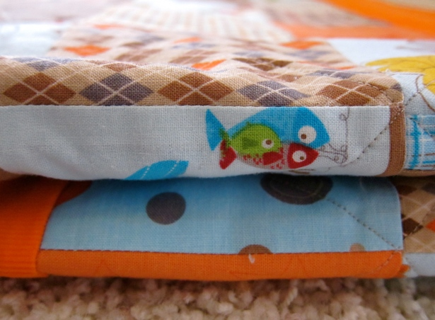Patchwork Quilt fox trails