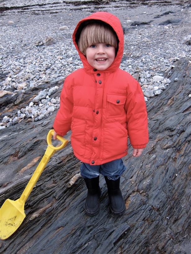 Future clam digger!