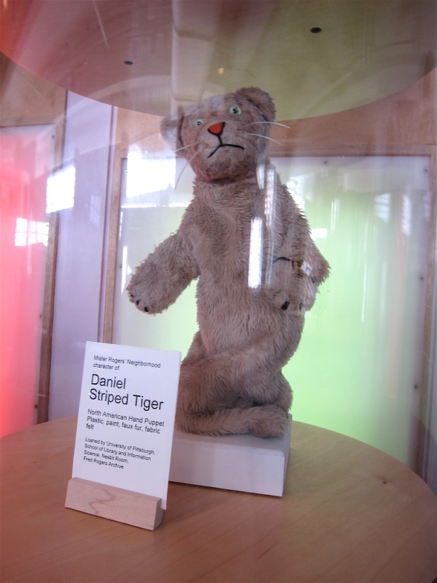 Daniel Tiger at the Pittsburgh Children's Museum