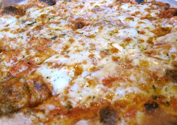 Order the Jay's Heart ( a cheese pizza with special herb blend) Their specials offer creative options as well!