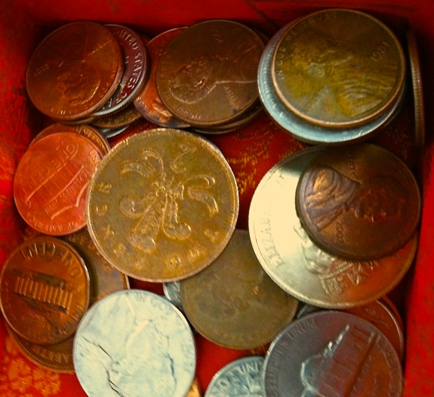 Coins as treasure