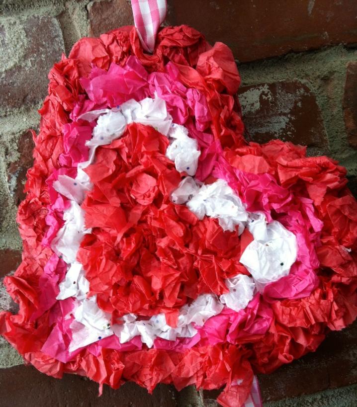 Tissue Paper Valentine