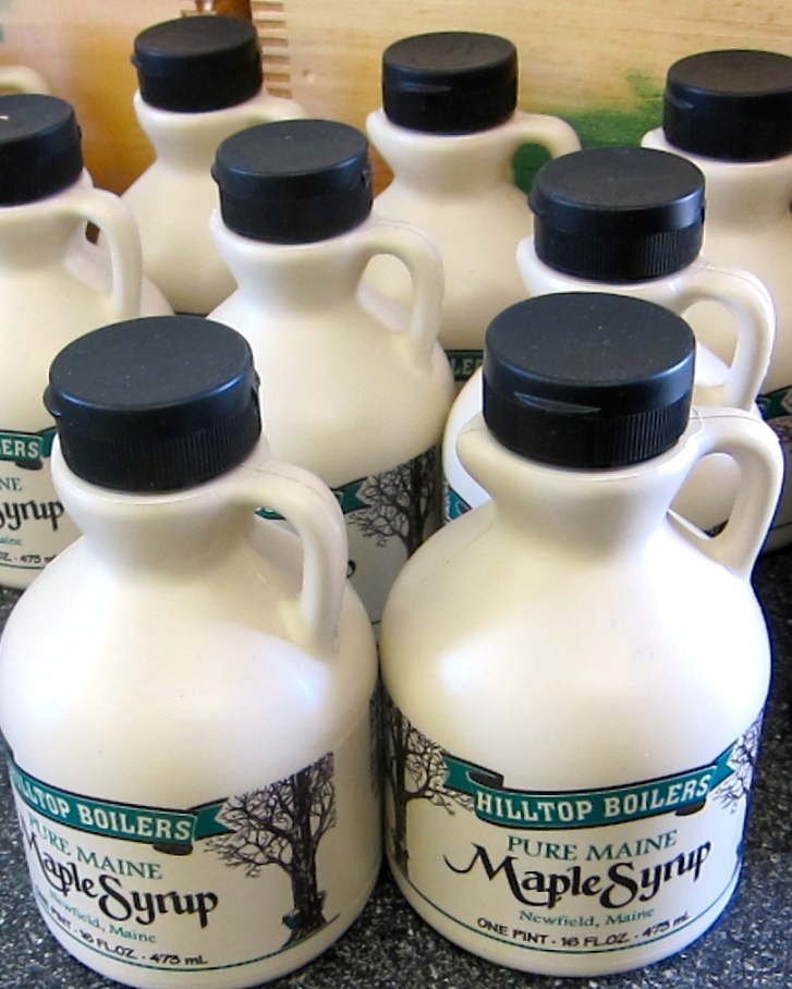 Maine Maple Syrup Jugs
