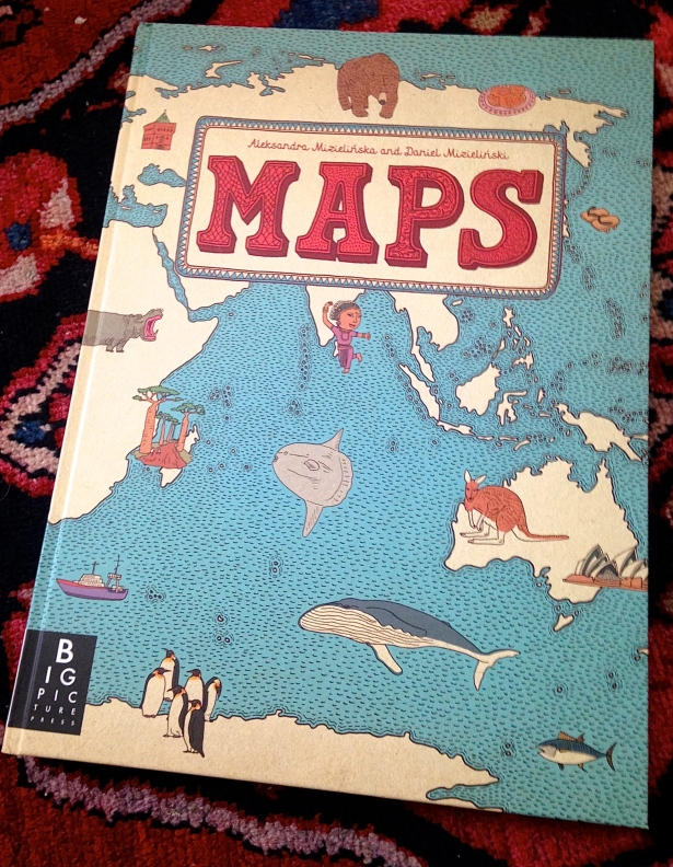 Maps: An incredible must have children's book