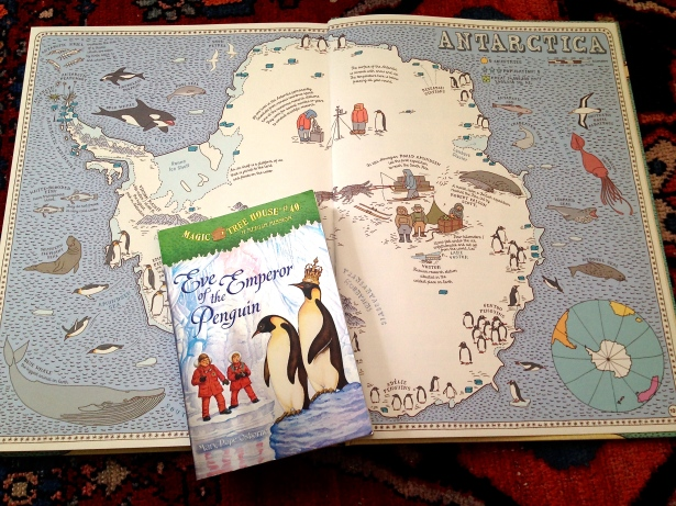 Magic Tree House and Maps: A great Combination