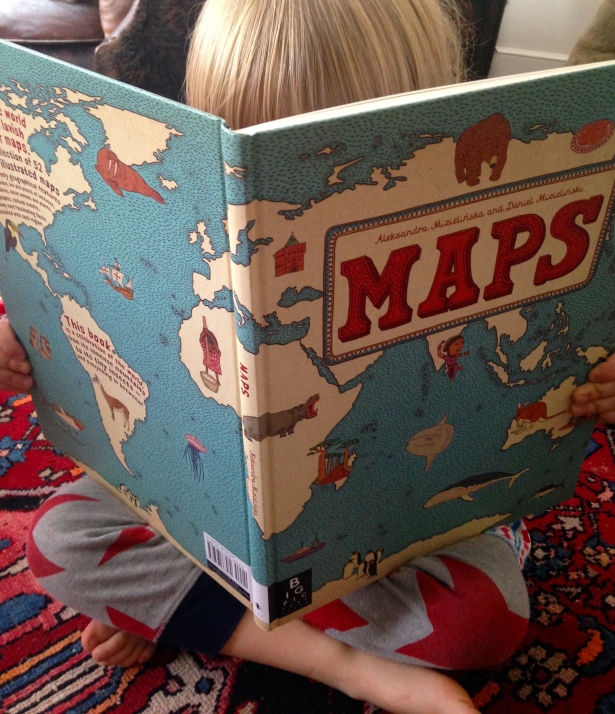 Maps: Our new favorite children's book