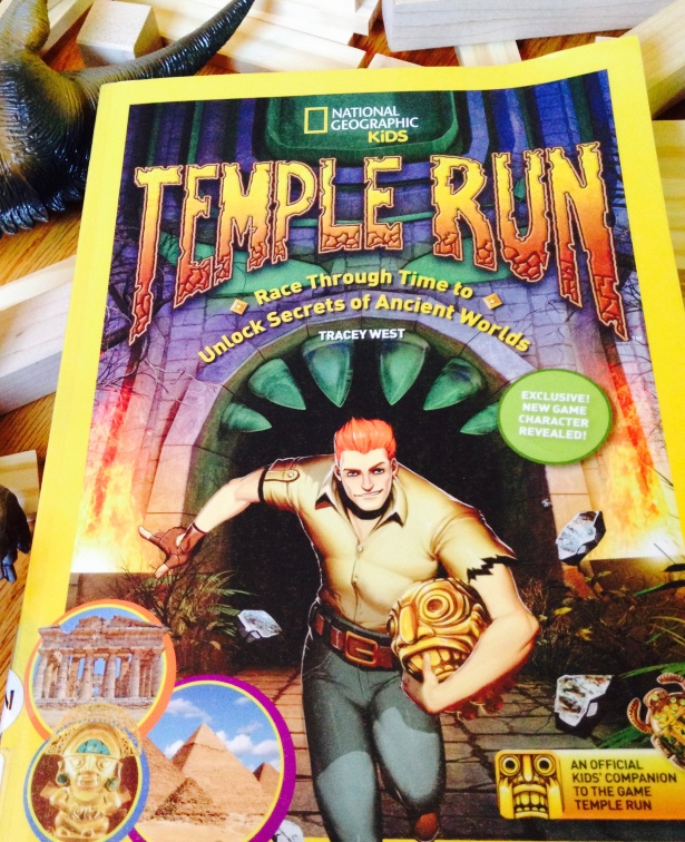 National Geographic's Fact and Photo Filled companion to the popular game and series TEMPLE RUN